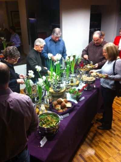 Holiday dinner for NW Natural Gas